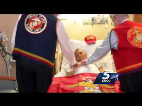 Thumbnail: Dying Marine veteran gets one last wish