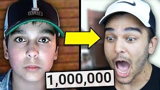 This Video Took Me 10 Years To Make. (One Million Subscriber Reaction)