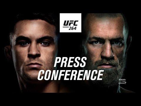 UFC 264: Pre-fight Press Conference | Poirier vs McGregor 3