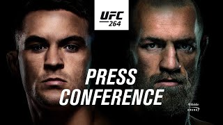 UFC 264: Pre-fight Press Conference