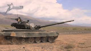 Танковый биатлон в горах Кыргызстана (Tank Biathlon in Kyrgyzstan)