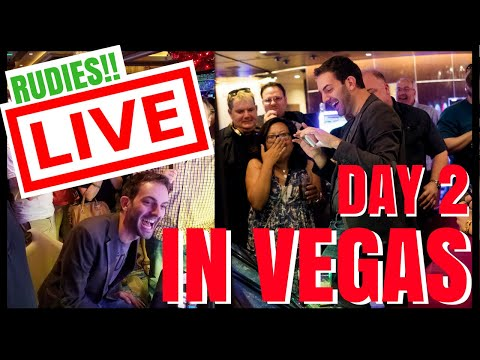 🔴PRIVATE LIVE STREAM for the RUDIES in VEGAS CASINO ✦Slot Machines ✦ with Brian Christopher