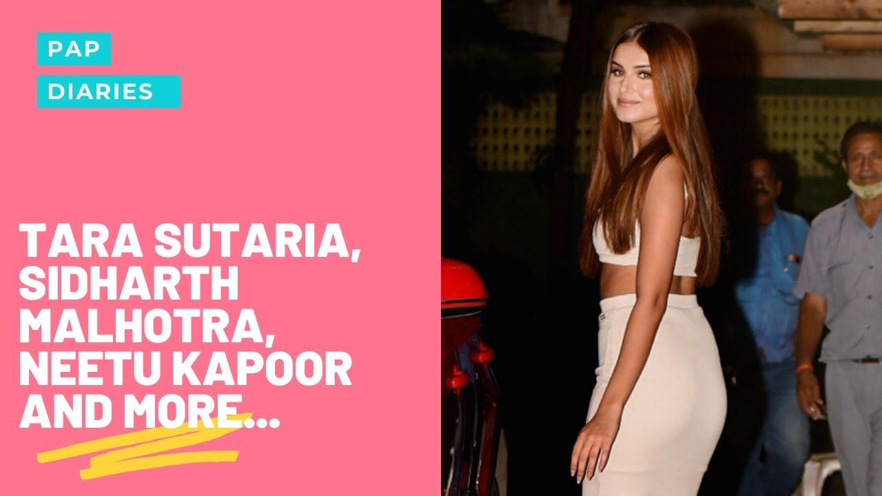 Tara Sutaria, Sidharth Malhotra, Neetu Kapoor and more | Pap Diaries | Filmfare