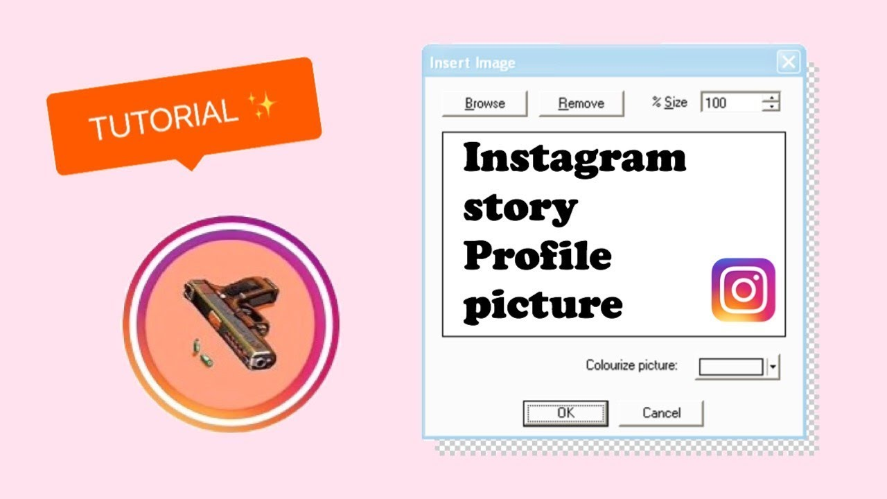 INSTAGRAM Story Profile Picture (Circle) // Easy Tutorial