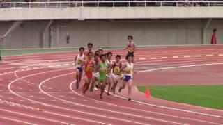2017 西日本インカレ陸上 男子5000m決勝 1