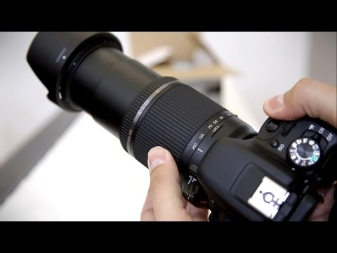 Tamron 18-200mm f/3.5-6.3 Di II VC lens review (DSLR lens) with samples
