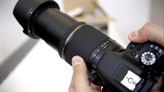 Tamron 18-200mm f 3 5-6 3 Di II VC lens review DSLR lens with samples
