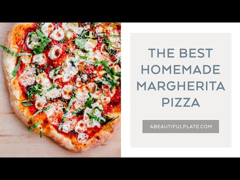 The Best Homemade Margherita Pizza