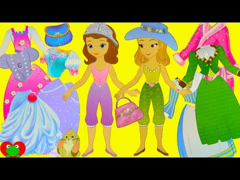 Disney Princess Sofia The First And Amber Fashion Mix And