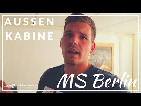 MS Berlin Aussenkabine 447 - Hotel zur Schraube 😁