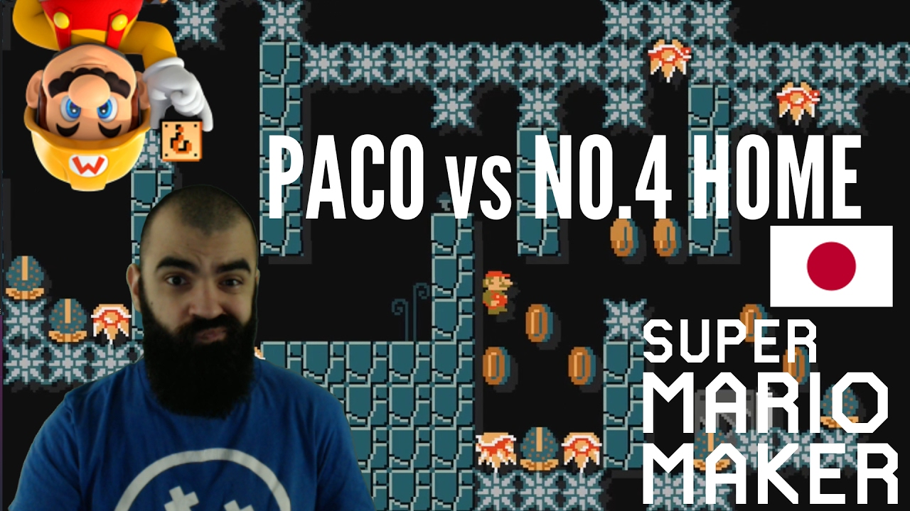 Spinies, Spikes & Sspeedruns | PACO vs NO 4 HOME | Mario Maker Super Expert  Levels by THEINCREDIBLEPACO