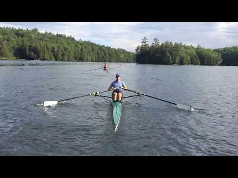Craftsbury sculling camp (day 1)