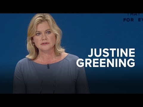 Justine Greening: Speech to Conservative Party Conference 2016