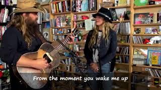 Chris & Morgane Stapleton - More of you with lyrics