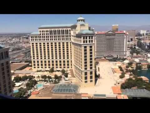 Cosmopolitan Hotel Las Vegas Terrace Suite Balcony Tour Daytime View