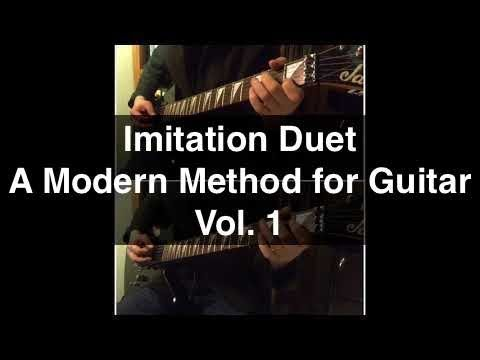 Imitation Duet | Page 14 | A Modern Method for Guitar Vol. 1