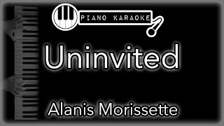 """Piano karaoke instrumental for """"uninvited"""" by alanis morissetteyou can now say thank you and buy me a coffee! ☕️it will allow to keep bringing the bes..."""