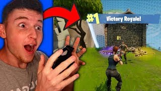 Infinite Lists Gets A VICTORY ROYALE! (Fortnite: Battle Royale)