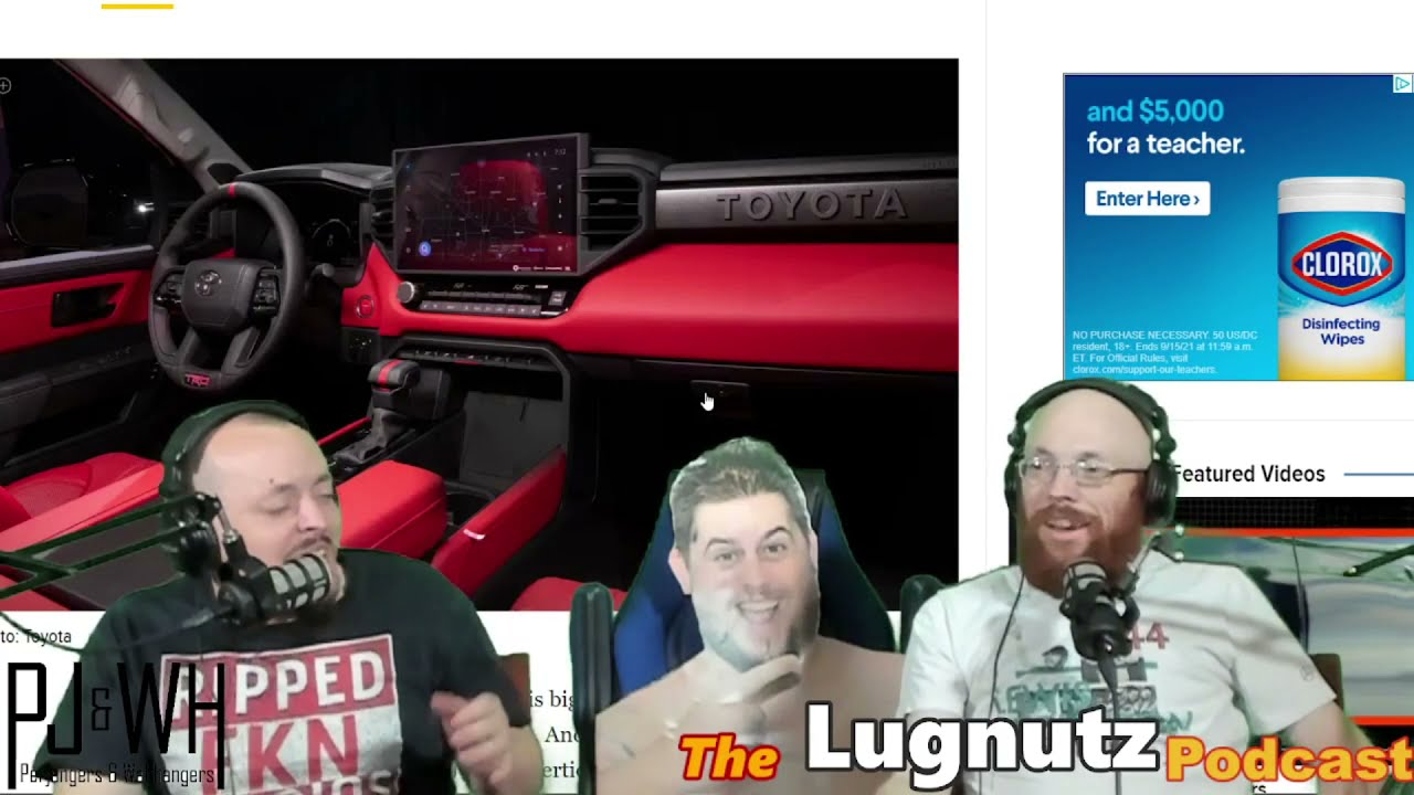 #256 Lugnutz Podcast: Color Changing Paint with Side Quests