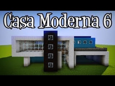 Minecraft creando casa moderna juegagerman vegetta777 for Casa moderna 6 parte 2