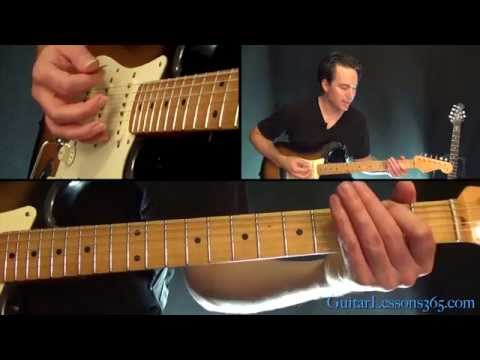 Hard To Handle Guitar Lesson - The Black Crowes