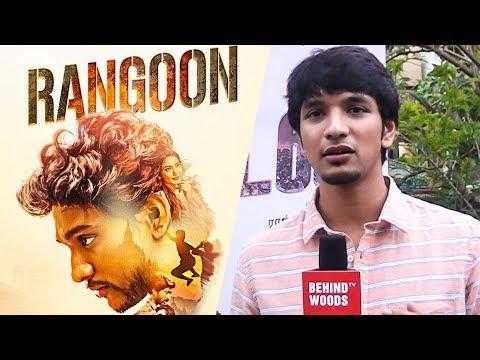 Gautham Karthik shares his working experience in Rangoon | TN 150