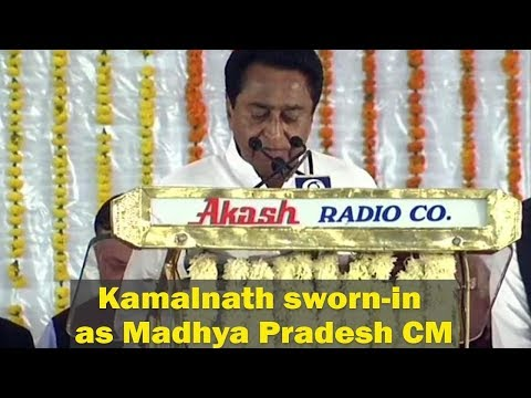 Kamal Nath sworn in as Madhya Pradesh CM