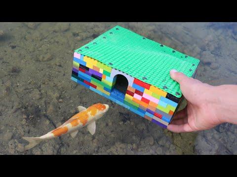 LEGO FLEX SEAL FISH TRAP! DIY