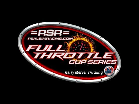 Garry Mercer Trucking Presents =RSR= Full Throttle Cup Series Live at Michigan