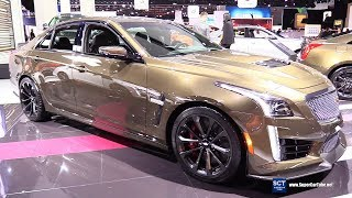 2019 Cadillac CTS-V - Exterior and Interior Walkaround - 2019 Detroit Auto Show