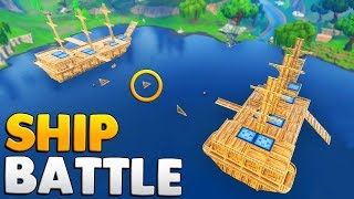 VIKING BATTLESHIPS IN FORTNITE | Fortnite Custom Game