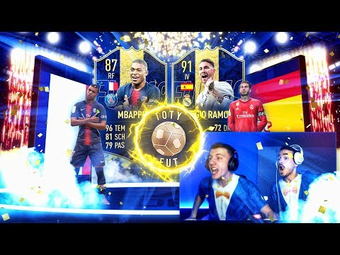 MBAPPE und RAMOS in EINEM PACK !! 😱🔥 TOTY PACK OPENING