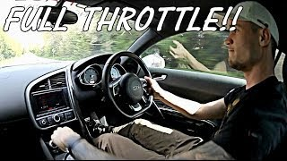 Audi R8 FULL THROTTLE Accelerations!