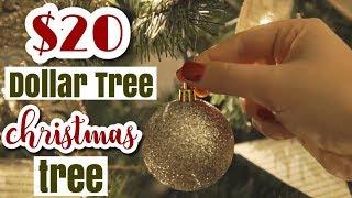$20 Dollar Tree Christmas Decor Challenge Collab 2017 | Day 2 of 12 days of Kristmas