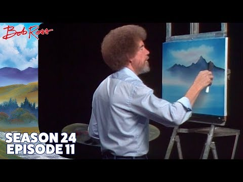 Bob Ross - Portrait of Winter (Season 24 Episode 11)