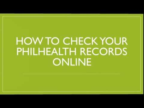 How to check your PhilHealth Online