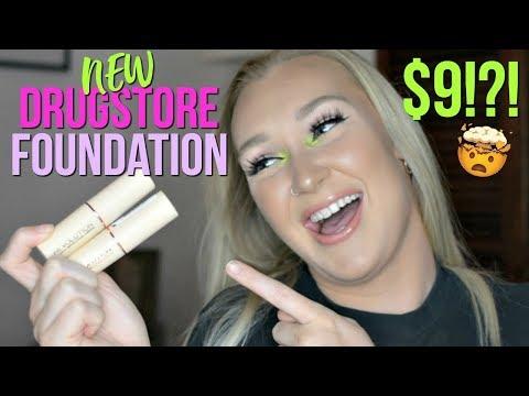 $9 Stick Foundation?! | Makeup Revolution Review | MORGAN MULLINS