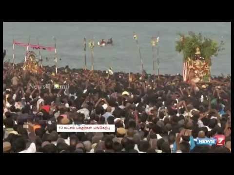 SOORASAMHARAM FESTIVAL IN THIRUCHENDUR - NEWS 7 TAMIL