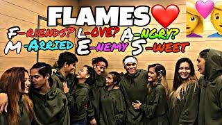 FLAMES COUPLE GAME(BRUSKOBROS GIRLFRIENDS)