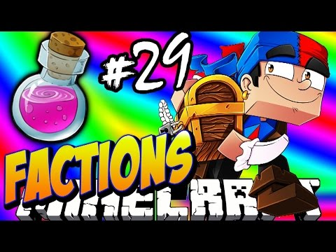 Minecraft FACTIONS #29 'ALCHEMY GRINDER!' - Treasure Wars S1