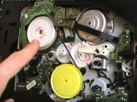Troubleshooting A Philips Vcr - How To Remove A Stuck Cassette