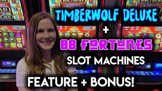 Closing The Pot For A NICE WIN! 88 Fortunes Slot Machine!!