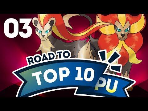 Pokemon Showdown Road to Top Ten: Pokemon Sun & Moon PU w/ PokeaimMD #3