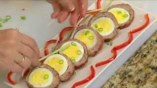 BẾP NHÀ TA NẤU: Thịt bằm bọc trứng
