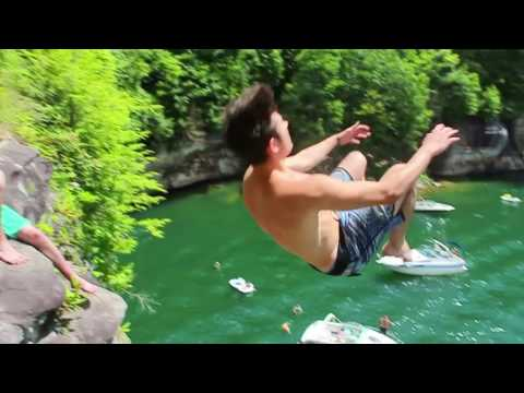 Huge Cliff Jumping in West Virginia