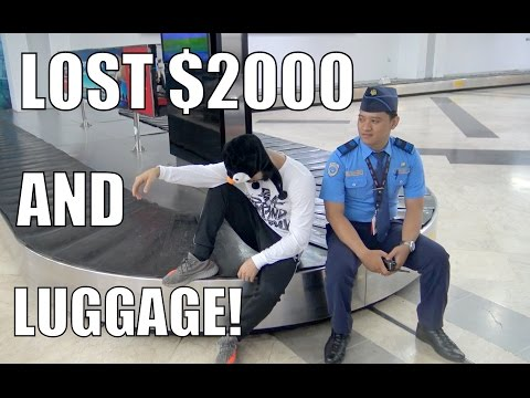 LOST $2000 OF LUGGAGE AT THE AIRPORT!!!