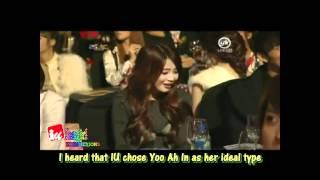 (eng sub) Yoo Ah In said I love you to IU :))
