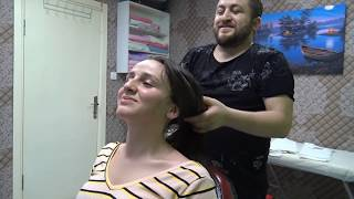 Download ASMR MASSAGE TURKISH BARBER=NECK,EAR CRACK=FEMALE head,back,arm,face,ear,wire massage=SLEEP MASSAGE Mp3 and Videos