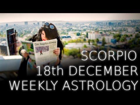 Scorpio Weekly Astrology Forecast 18th December 2017
