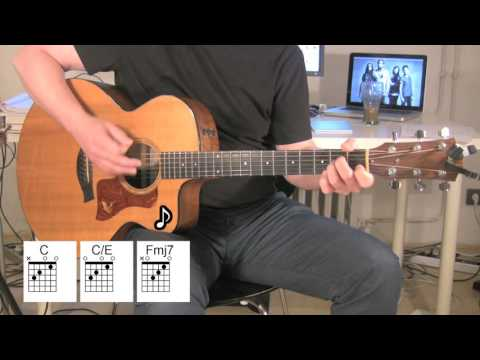 Use Somebody - Acoustic Guitar with original vocal track by Kings of Leon